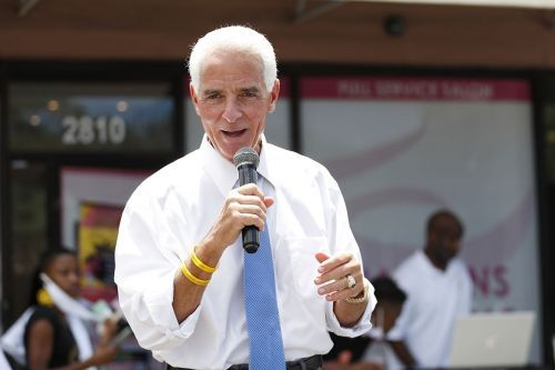 Florida's Crist becomes first prominent Democrat to challenge DeSantis