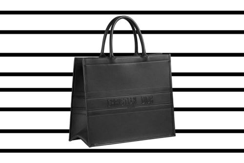 Ten Loves: Dior Black-Ultra Matte Book Tote
