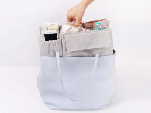 I figured out how to hack this $50 diaper bag insert as a purse organizer - here's how