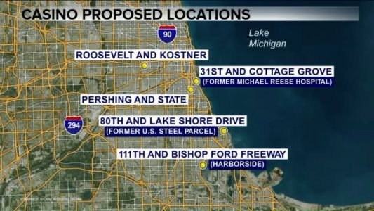Potential Chicago casino sites being evaluated on West, South sides