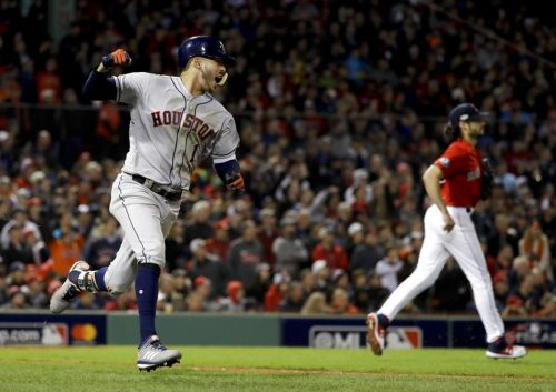 Pitching woes, shaky defense sink Red Sox in Game 1 of ALCS