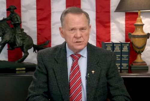 Roy Moore posts video following Alabama Senate race defeat: 'The battle rages on'