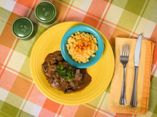 Chef Nyesha Arrington's Recipe for a Homemade Version of Stouffer's Salisbury Steak TV Dinner