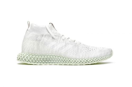"Adidas Consortium Readies Runner Mid 4D ""White"" for Summer Months"