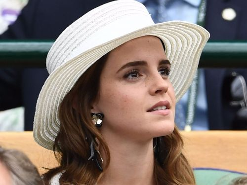 Emma Watson stole show the show at Wimbledon in a 3-piece suit - and you probably totally missed it