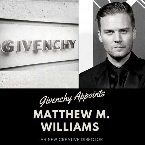 Givenchy Appoints Matthew M. Williams