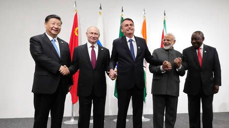 BRICS brings the chance of world change, as the US and EU obsess over internal battles