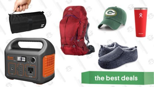 Sunday's Best Deals: NFL Apparel, REI Outlet, Sherpa Slippers, Kindle Unlimited, and More
