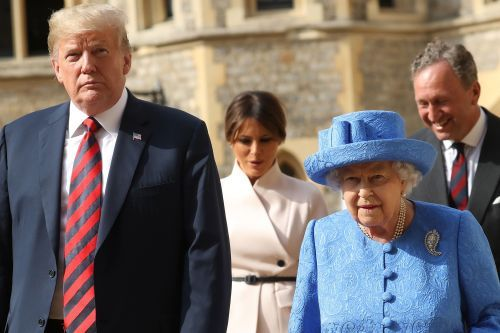 Queen Elizabeth wore gift from Obama during Trump meeting