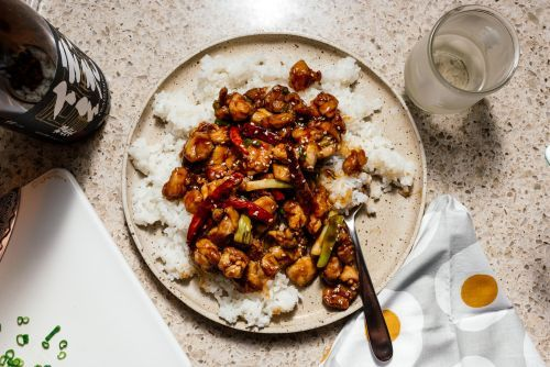 An Easy & Healthy Oven Baked General Tso's Chicken Recipe
