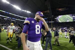 Cousins struggles as Vikings' offense slips in 23-10 loss