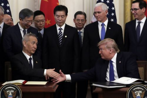 A quick guide to what Trump's 94-page trade deal with China included - and left out