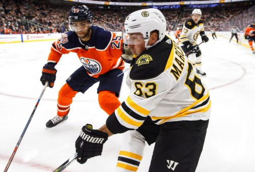 Bruins drop second straight game of West Coast road trip