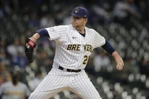 Anderson's arm, Bradley's bat lead Brewers over Pirates 7-1