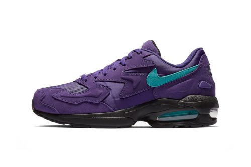 """Nike's Air Max2 Light Returns in Two Bold """"Grape"""" Options"""