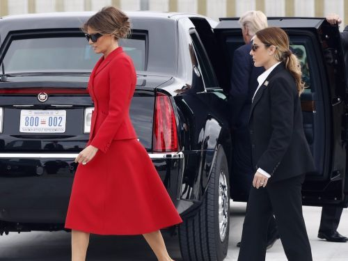 Melania Trump has a secret service agent who looks strikingly similar to her - and it's fueling a wild conspiracy theory