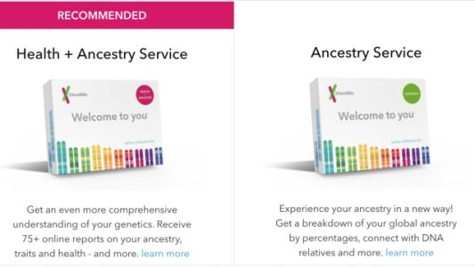 Amazon's Running a Big Sale On 23andMe's New and Improved DNA Testing Kits