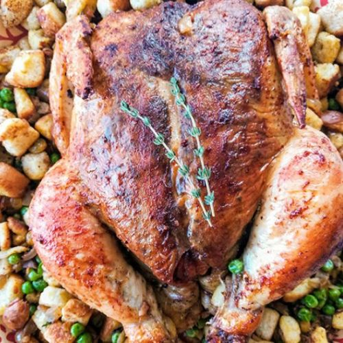 Roast Chicken and Stuffing