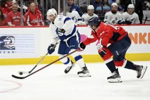 Stamkos scores in OT, Lightning come back to beat Capitals
