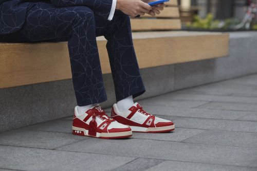 Louis Vuitton Creates Exclusive Trainer for World Aids Day