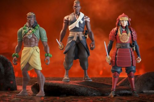 Super7 Celebrates the Premiere of Netflix's 'Yasuke' With SuperVinyl Figures