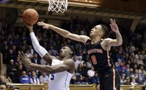 No. 2 Duke emerges from exam break to beat Princeton 101-50