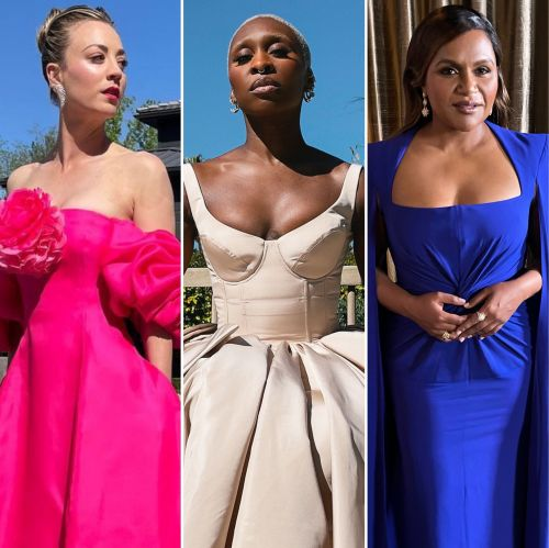 See What Your Favorite Stars Wore to the 2021 SAG Awards: Photos of Kaley Cuoco, Cynthia Erivo and More
