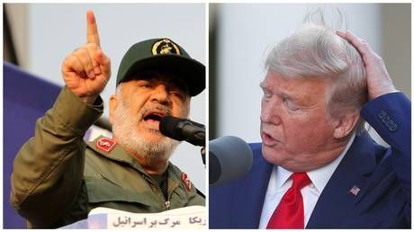 IRGC chief warns Trump of retaliation if 'a hair comes off an Iranian's head' amid rising tensions as US threatens sanctions
