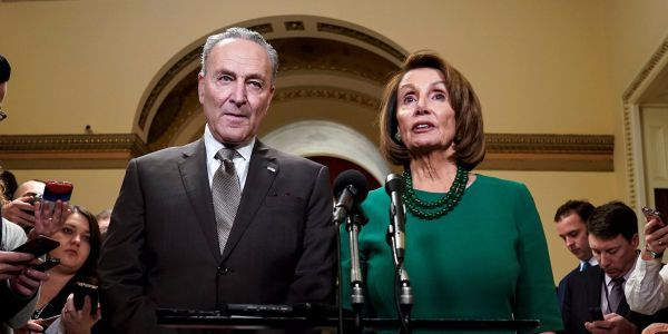 Chuck Schumer and Nancy Pelosi accuse Attorney General William Barr of 'deliberately distorting' the Mueller report