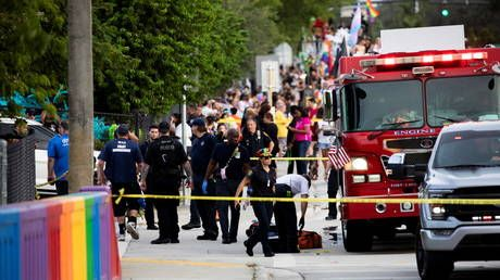 Fatal truck incident at Florida pride parade was 'tragic accident, not criminal attack' - police