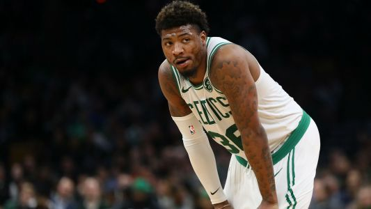 Celtics guard Marcus Smart ejected after shoving 76ers star Joel Embiid