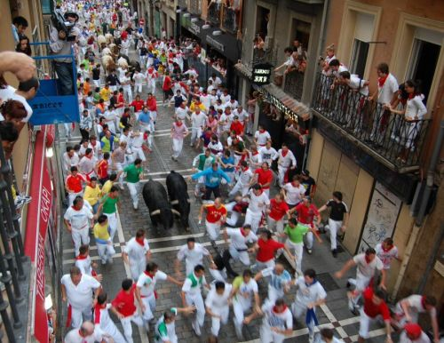 Daily Dose of Europe: Pamplona - Feeling the Breath of the Bull on Your Pants