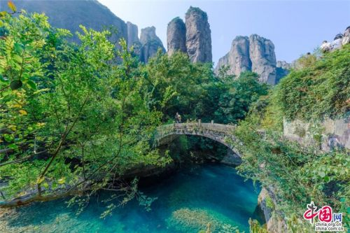 Yandang Mountain in Zhejiang