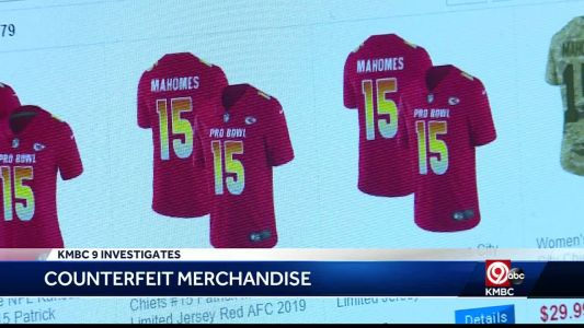 BBB warns of fake Chiefs merchandise scams