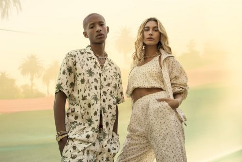 Hailey bieber and jaden smith star in levi's new campaign