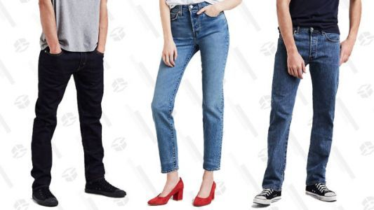 Get Discounted Denim With 30% Off Select Styles From Levi's