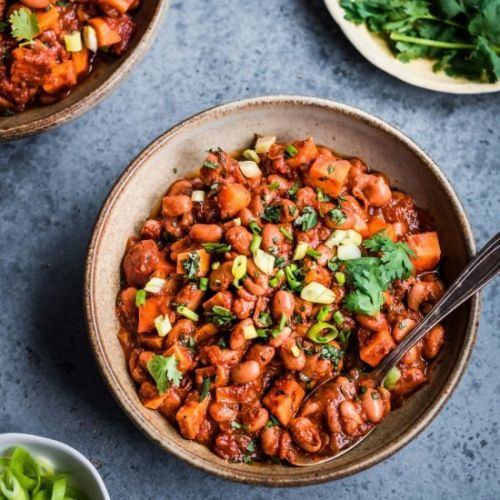 Sweet Potato and Pinto Bean Chili