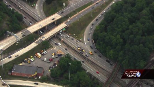 Pedestrian killed while crossing inbound Parkway West