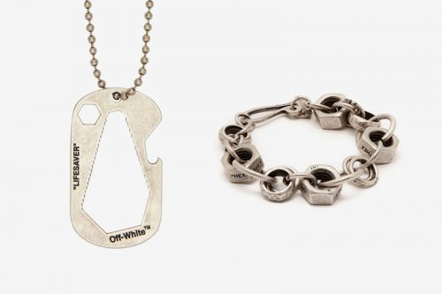 Off-White™ Releases an Array of Industrial-Themed Jewelry