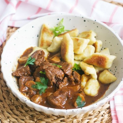 Beef Stew With Dark Beer