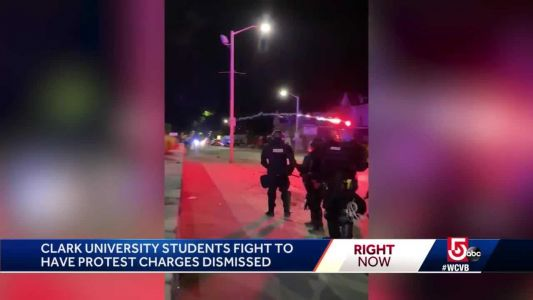 Clark University students fight to have protest charges dismissed