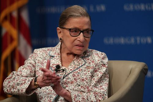 Justice Ginsburg temporarily halts Trump financial records subpoena