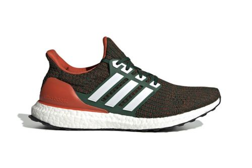 """Adidas UltraBOOST 4.0 """"Miami Hurricanes"""" Arrives Next Month"""