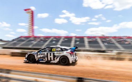 America's Rallycross Cooked In The Texas Heat During Their First Race In Austin
