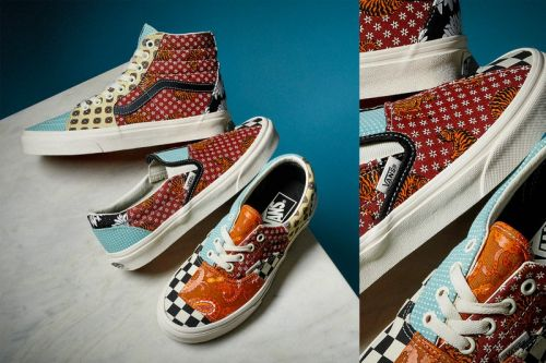 Geometric Patterns and Visual Motifs Define Vans Tiger Patchwork Pack