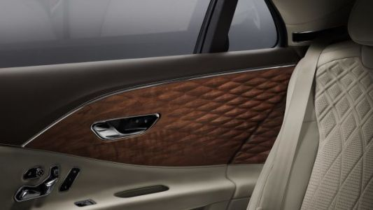 Bentley's Quilted Wood Interior Is Certainly Original
