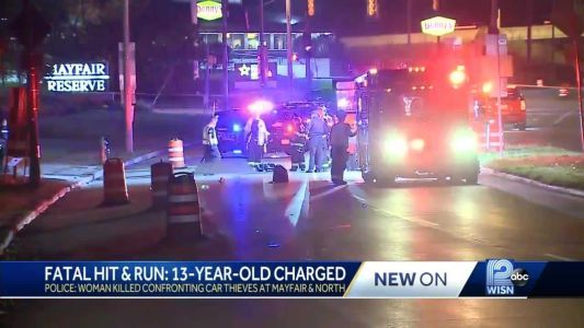 13-year-old charged as adult in Wauwatosa fatal hit-and-run