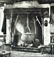 Peat in Ireland for cooking, heating