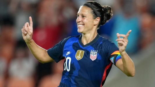 USWNT legend Carli Lloyd defying Father Time in quest for soccer Olympics gold at age 39