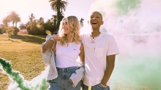 Levi's Pivots Its Festival Campaign Starring Hailey Bieber and Jaden Smith Amid Pandemic